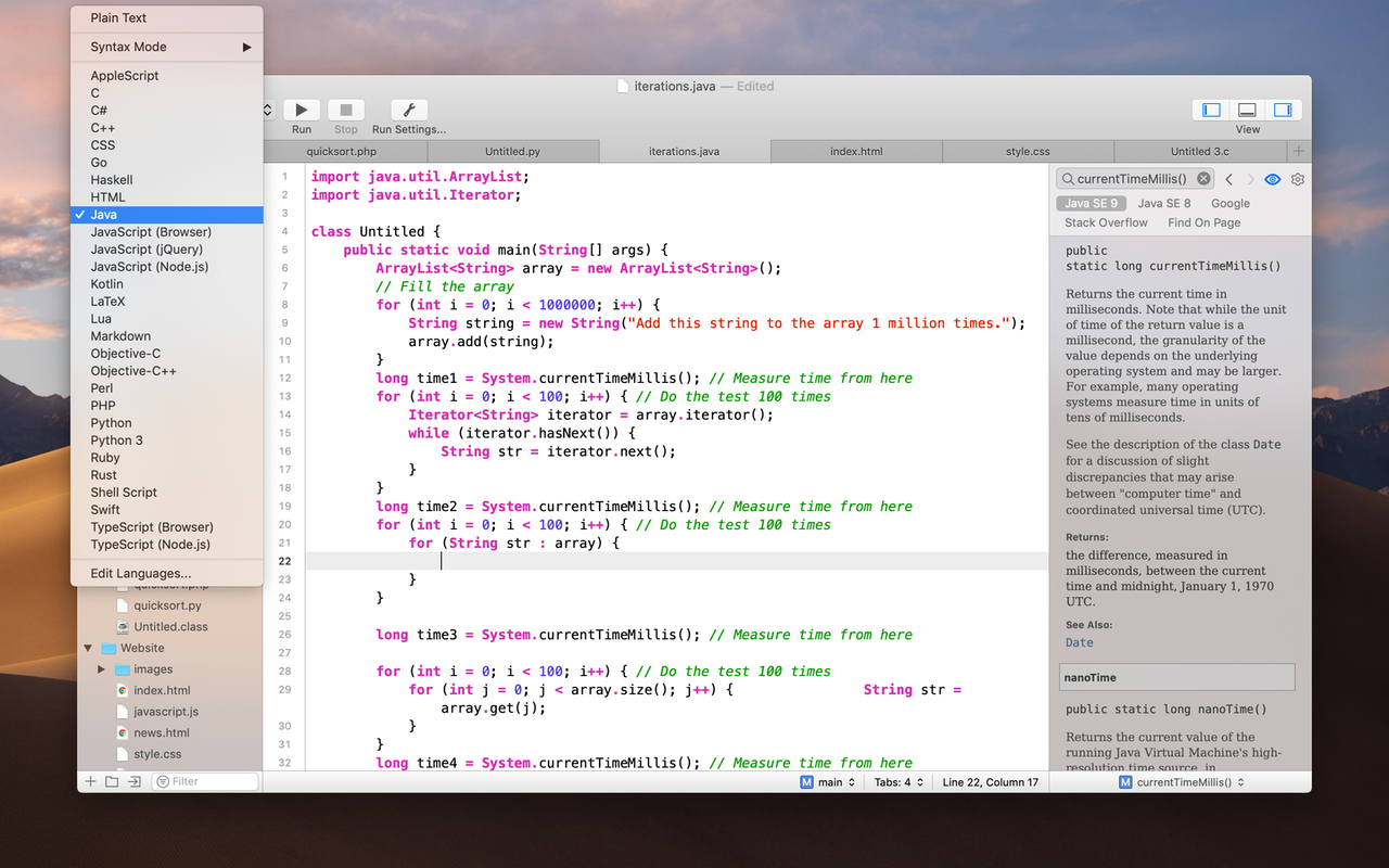 CodeRunner on Setapp | Beautiful, lightweight code editor for Mac