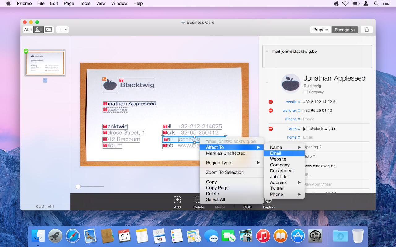 Prizmo on Setapp | Pro-level scanning for you documents