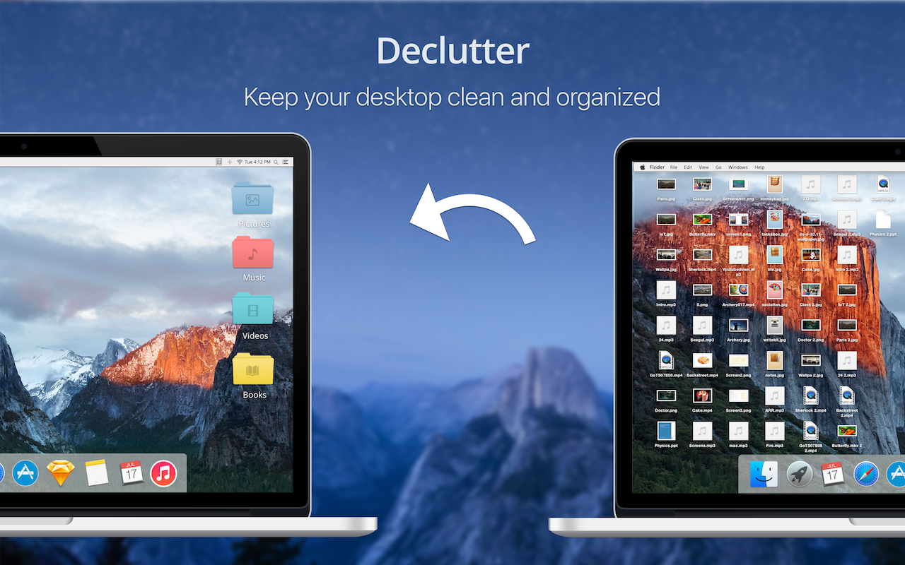 Declutter app keeps your desktop clean and organized
