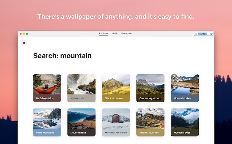 There's a wallpaper of anything, and it's easy to find.