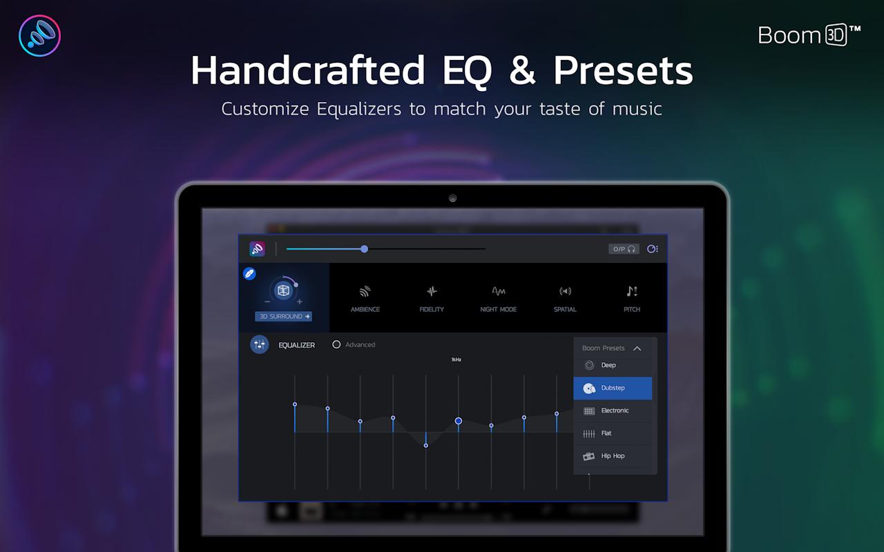 Boom 3D on Setapp | Complete Audio Enhancer for Mac