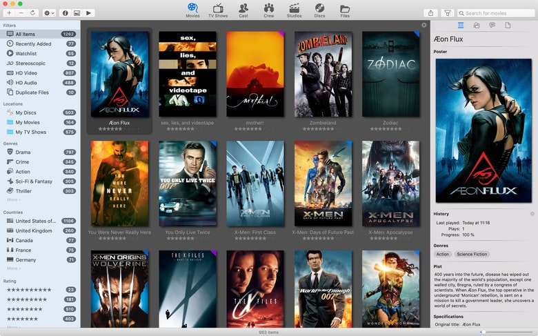 Create your own movie library