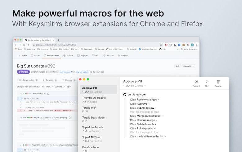 Make powerful macros for the web