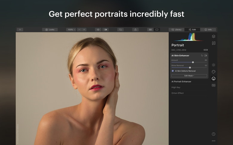 Get perfect portraits incredibly fast
