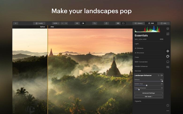 Make your landscapes pop
