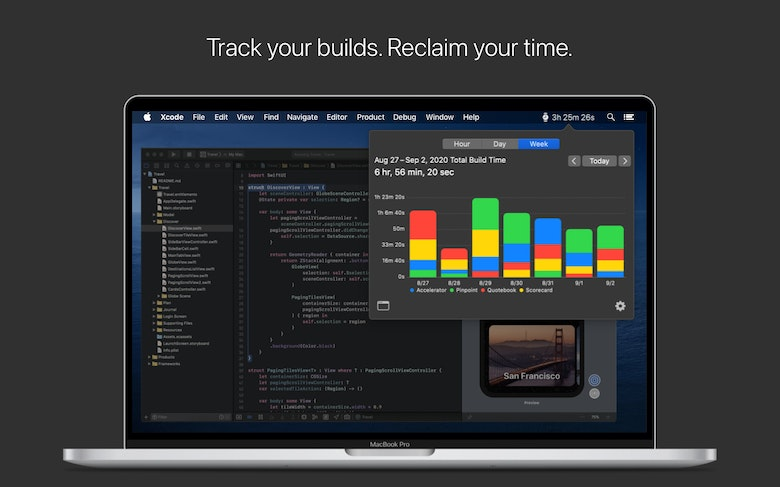 Track your builds