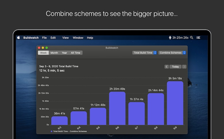 Combine schemes to see the bigger picture