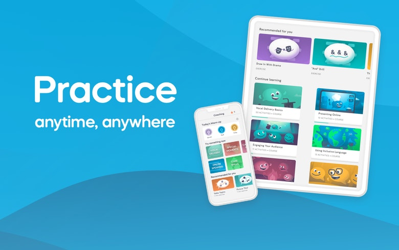 Practice anytime, anywhere