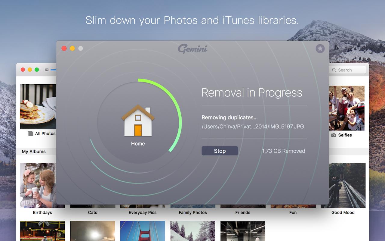 Verschlanke deine Fotos- und iTunes-Mediatheken.